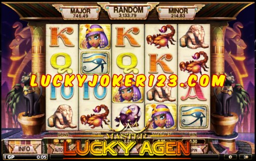 Agen Judi Slot Egypt Queen Joker123